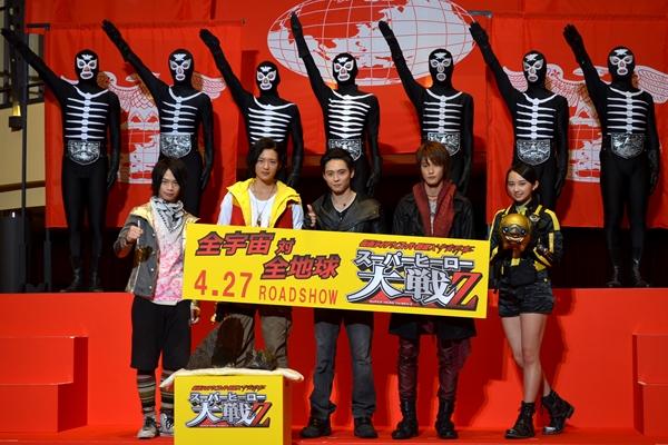 写真で振り返る! 「~スーパーヒーロー大戦Z」宇宙プレミア上映会