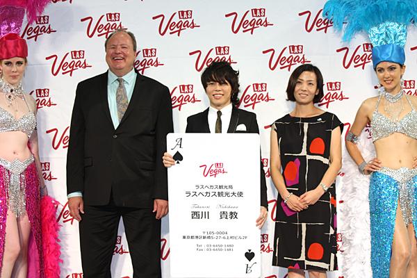 T.M.R西川貴教が日本初のラスベガス観光大使に!