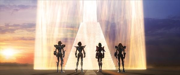 <p>「聖闘士星矢 LEGEND of SANCTUARY」メインカット (C)2014 車田正美/「聖闘士星矢」製作委員会</p>