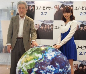 映画「スノーピアサー」トークイベントに登場した福田萌