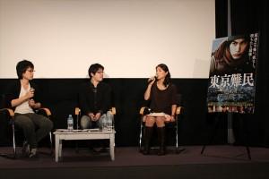 映画「東京難民」トークショー開催