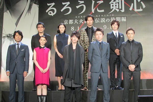 佐藤健「日本映画の歴史が変わる」『るろうに剣心』続編をキャスト陣が大絶賛