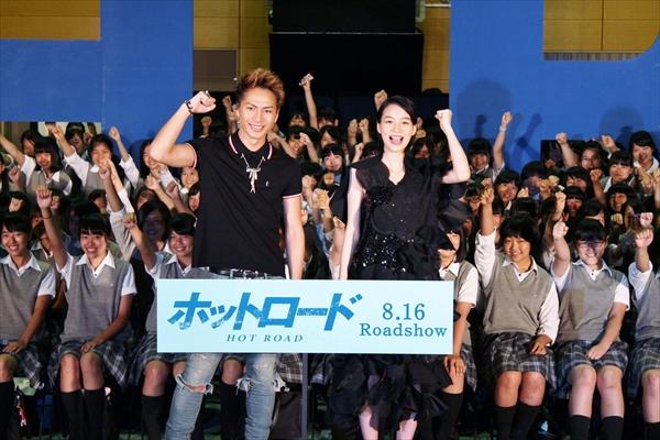 女子校でのサプライズ登場に登坂広臣「ワクワクしています(笑)」