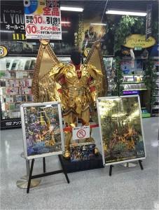 『聖闘士星矢』等身大聖衣(クロス)と黄金ポスターを期間限定で展示