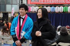 鈴木京香×高良健吾初共演『平成猿蟹合戦図』いよいよスタート