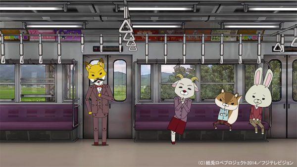 野村萬斎と八木亜希子が登場!『紙兎ロペ』が「オリエント急行殺人事件」とコラボ