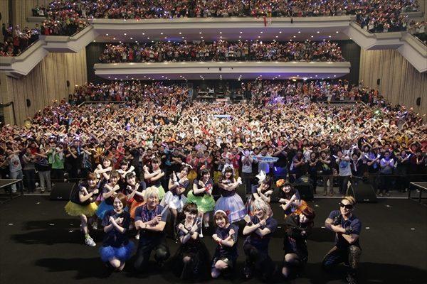 fripSideや上坂すみれが熱唱!「ANIMAX MUSIX」が大阪にて初開催