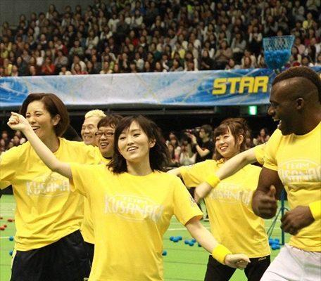 スマスマ初の大運動会開催!!AKB48、キスマイ、元宝塚トップスターも参戦