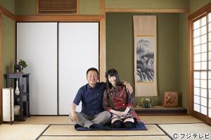 横山由依と父の横山靖生さん