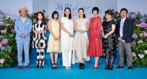 映画「海街diary」完成披露イベント