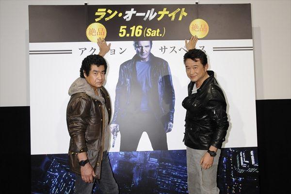 「見どころしかない」船越英一郎&藤岡弘、が「ラン・オールナイト」の魅力語る
