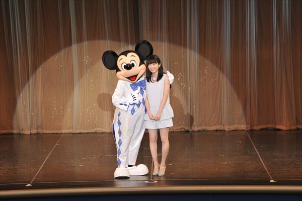 ミッキーマウスと共演した志田未来