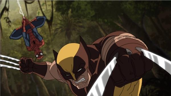 『アルティメット・スパイダーマン~』にウルヴァリンが初登場