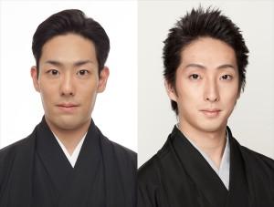 「赤坂大歌舞伎」に出演する中村勘九郎(左)と中村七之助