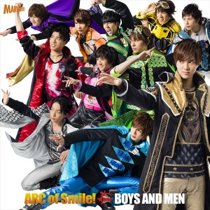 BOYS AND MEN「ARC of Smile!」ジャケット