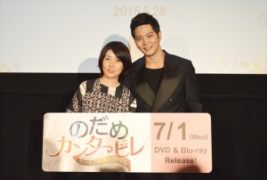韓国ドラマ『のだめカンタービレ~ネイル カンタービレ』に出演したチュウォン(右)、シム・ウンギョン