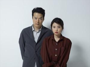 舞台「オレアナ」に出演する田中哲司と志田未来