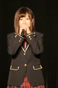 SKE48への正式加入が決定した水野愛理(チームKII)
