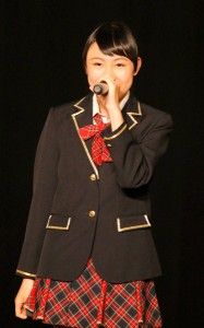 SKE48への正式加入が決定した白井琴望(チームKII)