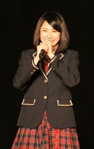 SKE48への正式加入が決定した菅原茉椰(チームE)