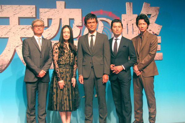 江口洋介が本木雅弘を絶賛「すごくいいパートナー」『天空の蜂』完成報告会見