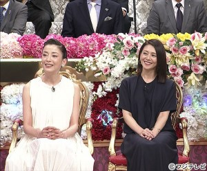 『とんねるずのみなさんのおかげでした~夏の特大SP』に登場した小泉今日子と宮沢りえ
