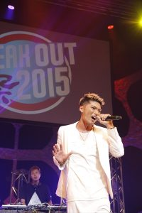 「BREAK OUT祭り2015」EXILE SHOKICHI