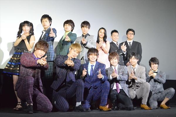 <p>BOYS AND MEN総出演の映画「復讐したい」初日舞台あいさつ</p>