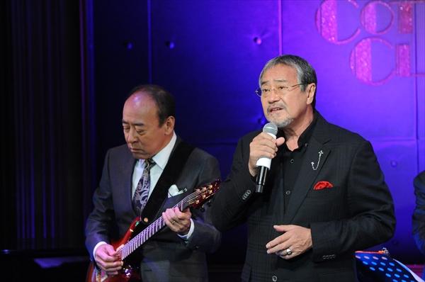 <p>モト冬樹と吉幾三「BS12歌謡ナイト jazzyなライブショー」</p>
