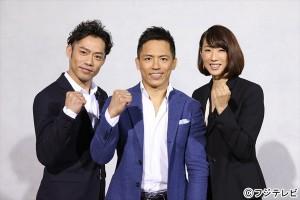 フジ・リオ五輪中継オリンピアンキャスターに就任した野村忠宏、髙橋大輔、小谷実可子