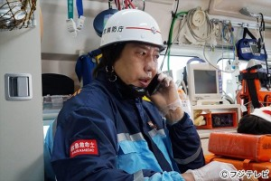 『OUR HOUSE』で救急救命士を演じる髙山善廣