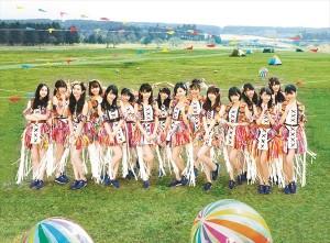 HKT48 7thシングル「74億分の1の君へ」