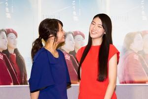 """『""""青の時代""""名曲ドラマシリーズ 荒井由実「ひこうき雲」』試写会"""