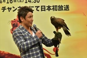 魔裟斗が「ライオン・ガード ゆうしゃのでんせつ」放送記念イベントに登場