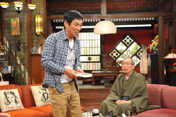 <p>『さんまのまんま』笑福亭松之助師匠にさんまがタジタジ!?</p>