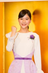 女優・芳根京子が連続テレビ小説『べっぴんさん』(NHK総合)のヒロインに