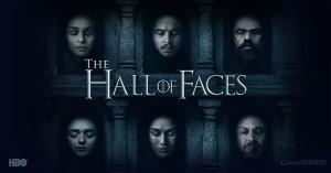 """「ゲーム・オブ・スローンズ 第六章:冬の狂風」WEBコンテンツ""""THE HALL OF FACES"""""""
