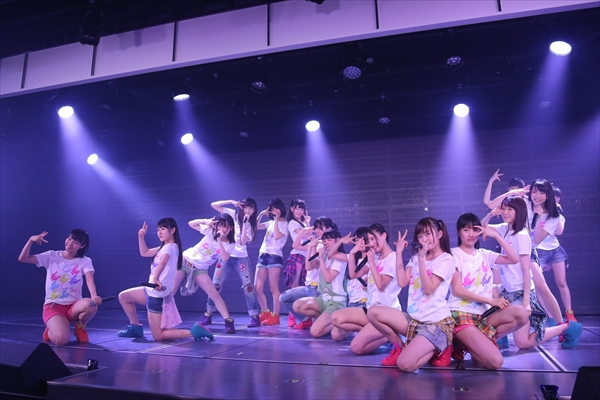 <p>NGT48チームNIII 2nd「パジャマドライブ」公演(C)AKS</p>