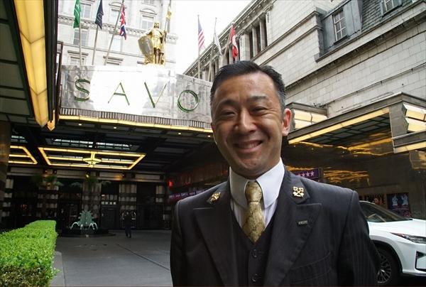 <p>ホテルコンシェルジュ・町田徹の「究極のおもてなし接客術」とは?<br /> (C)MBS</p>
