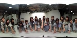 AKB48グループ360度VRコンテンツ