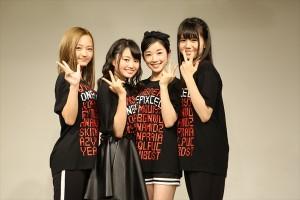 ガールズユニット「ONEPIXCEL」が初のリリースイベントを開催!