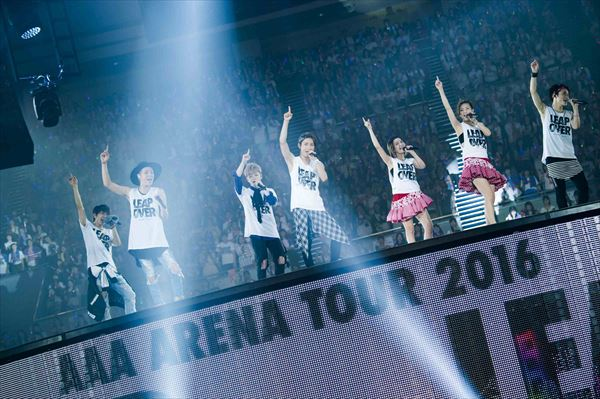 <p>「AAA ARENA TOUR 2016 -LEAP OVER-」</p>
