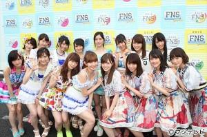 『FNSうたの夏まつり』48&46が一夜限りのドリームチーム結成