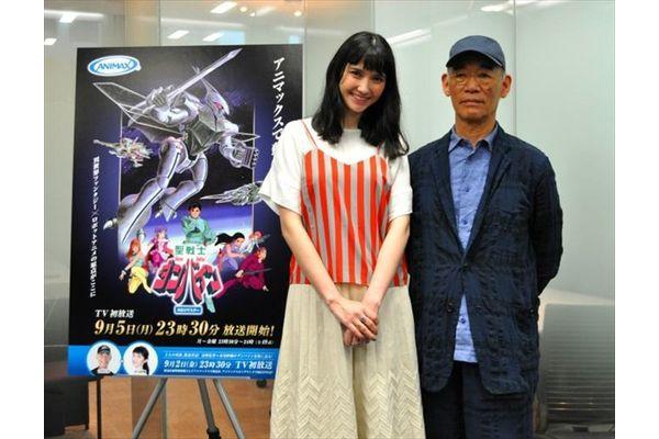 『聖戦士ダンバイン』ファンの市川紗椰、富野由悠季監督と夢の対談に歓喜