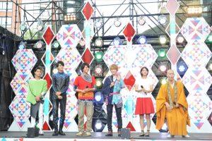 テレ朝夏祭りに仮面ライダーゴーストメンバーと中尾暢樹が登場