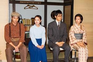 西島秀俊と向井理が久しぶりの朝ドラ出演への思いを語る