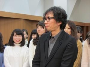 母校訪問の加藤シゲアキ「行定さんに自分の作品を預けようと思いました」