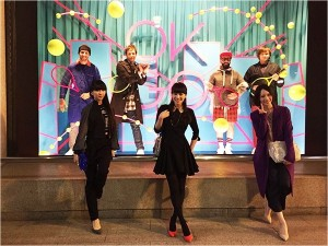 Perfumeが『SUSHI POLIUCE』主題歌でコラボ初挑戦!お相手はOK Go