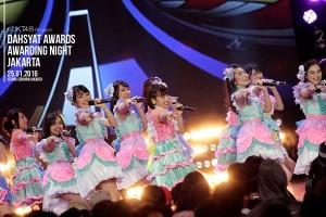 AKB48&JKT48がインドネシアの「Dahsyatnya Awards 2016」アワードを受賞