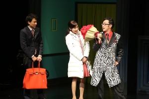 黒木瞳主演舞台「GURU(グル)になります」開幕 忍成修吾、阿久津愼太郎、東京03も出演